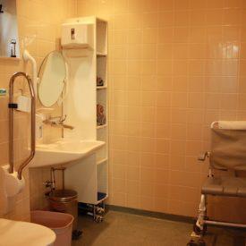 U heeft een eigen badkamer op uw kamer.